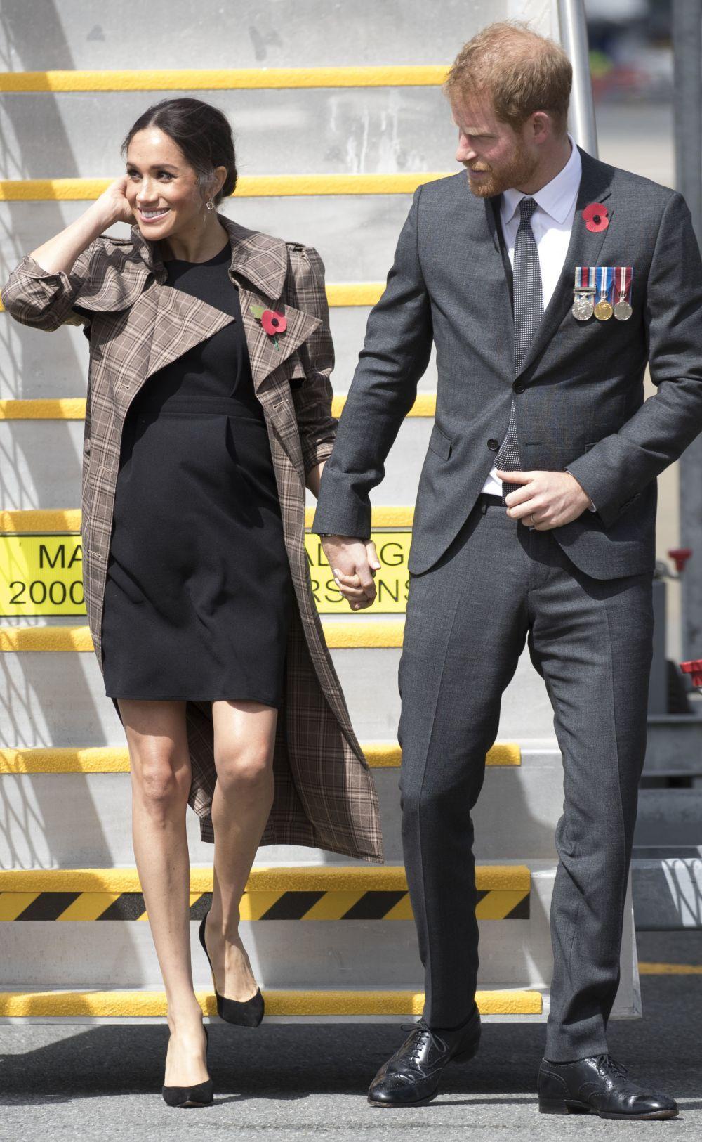 Meghan Markle con vestido low cost de Asos.