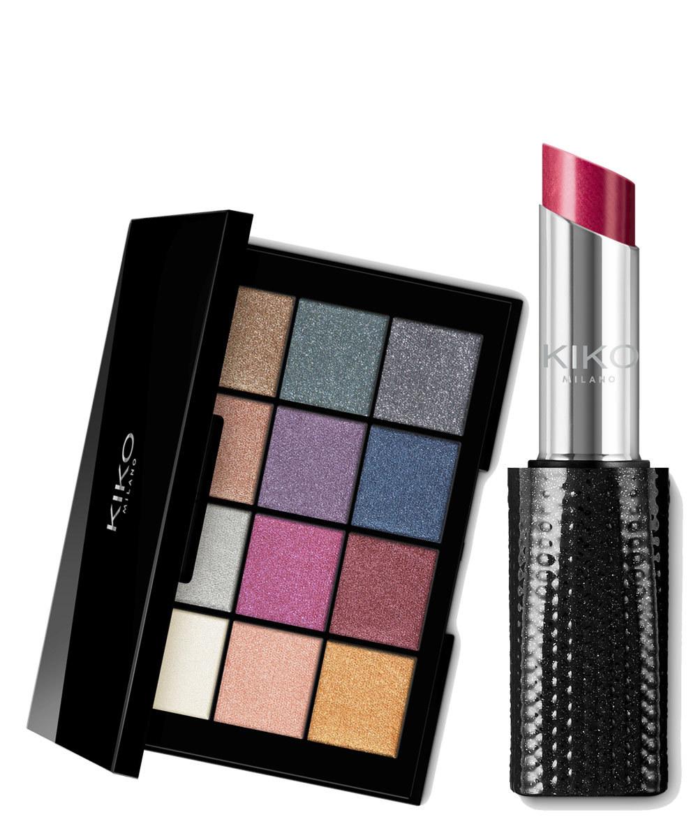 Smart Cult Eyeshadow Palette 02 (tonos usados: rojo y negro); Dark...