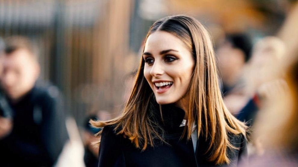 Olivia Palermo con su nuevo corte de pelo a capas.
