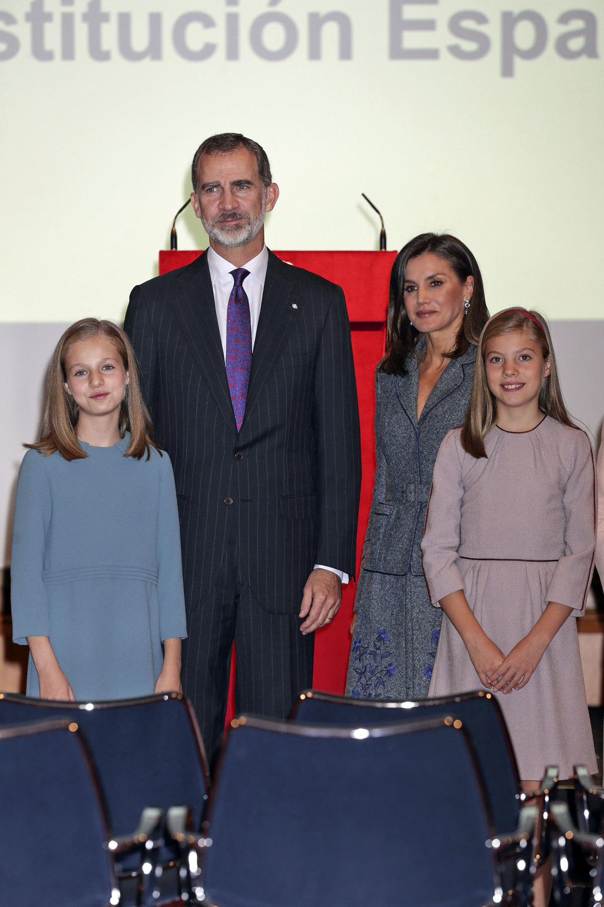 Rey Felipe VI, reina Letizia, Infanta Leonor, Infanta Sofía
