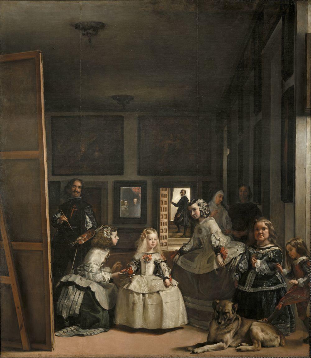 """""""Las Meninas"""", la obra más instagrameada de El Prado."""