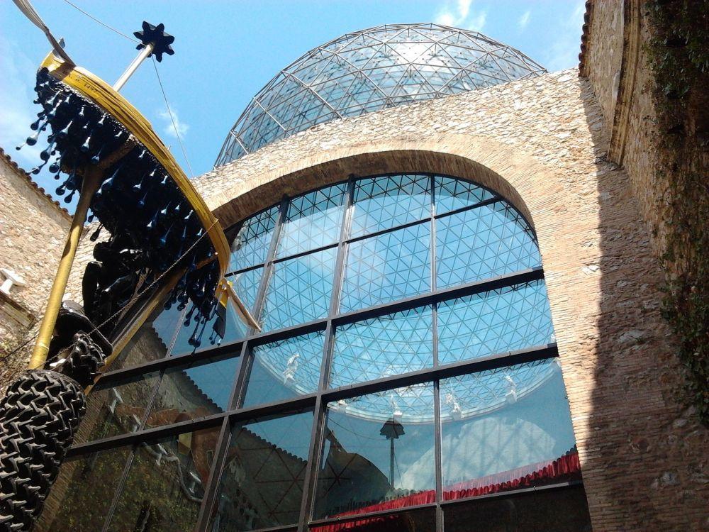 Vista exterior del Museo Dalí