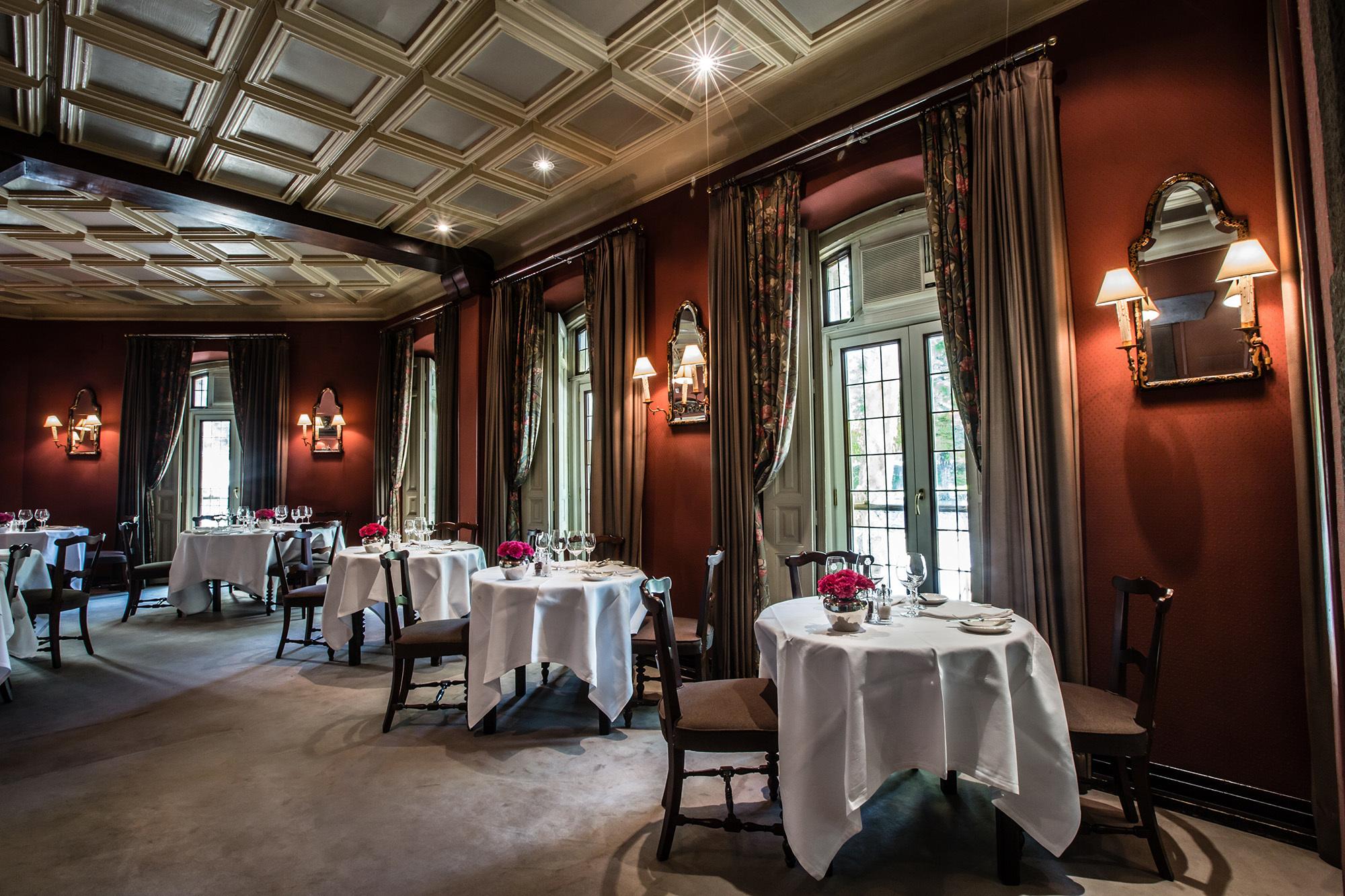 Salón del restaurante Horcher