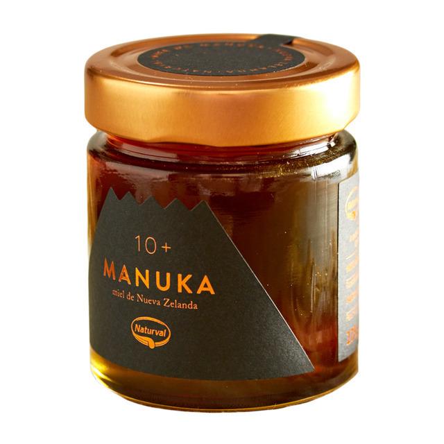 Miel de Manuka 10+ de Naturval. Precio 34,50 euros.