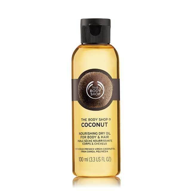 Aceite de Coco para Cuerpo y Cabello de The Body Shop. The Body Shop.