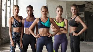 Campaña de la línea deportiva de Victoria's Secret