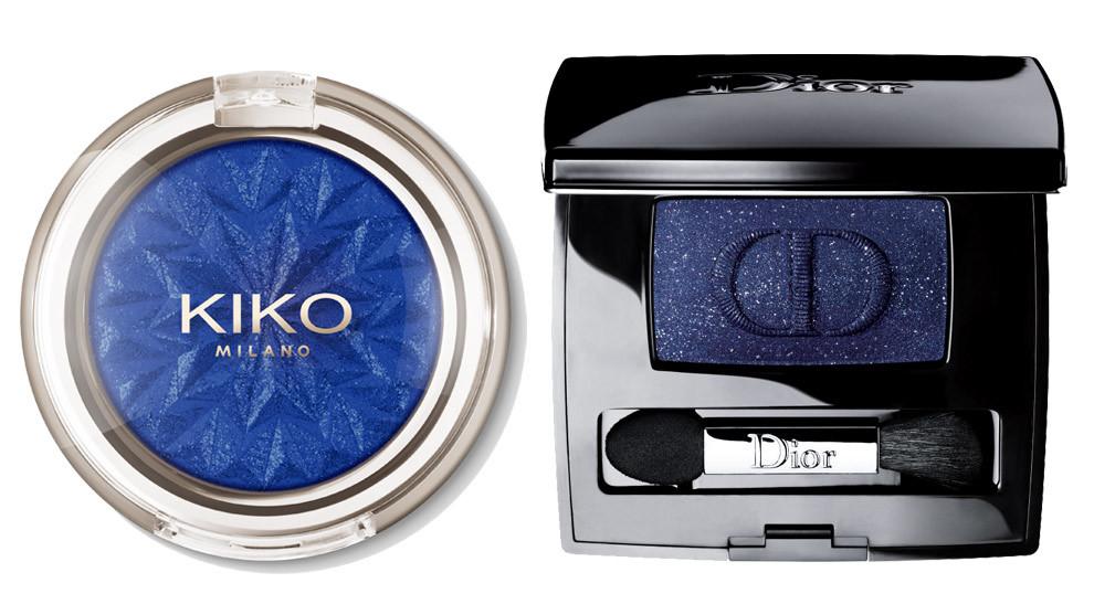 Sombra de ojos azul, de Kiko Milano (C.P.V.) y Diorshow Mono azul...