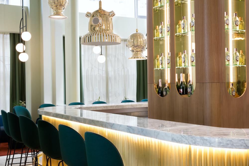 Garra Bar, en Hotel Barceló Torre de Madrid