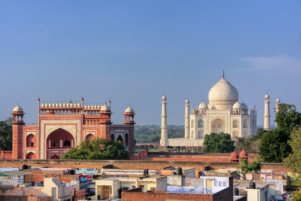 El Taj Mahal, en India