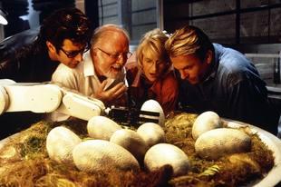 Escena de Jurassic Park, la película que desencadenó toda una gran...