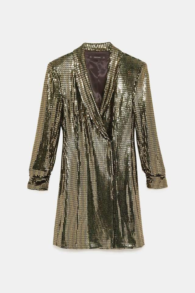 el precio se mantiene estable más nuevo mejor calificado selección asombrosa Vestido-blazer metalizado | ¿Sabes ya lo que vas a ponerte...