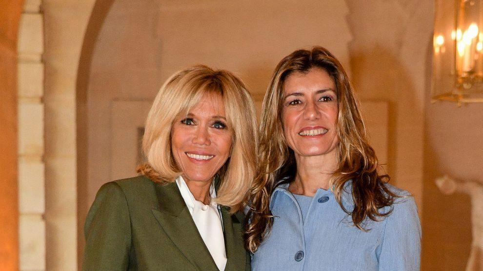 La esposa del presidente, Briggite Macron fue la maestra de...
