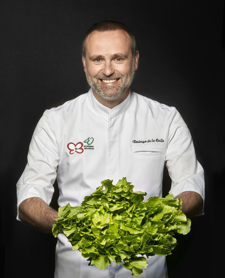 Rodrigo de la Calle, gran representante de la gastronomía vegetal.