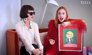 Lydia Delgado y Miranda Makaroff, en una entrevista para TELVA.
