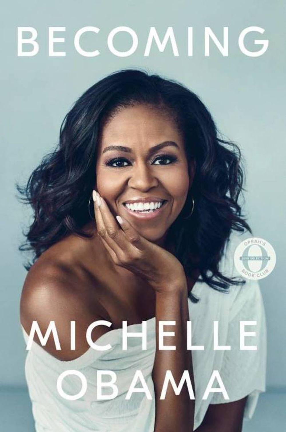 Portada del Libro de Michelle Obama.