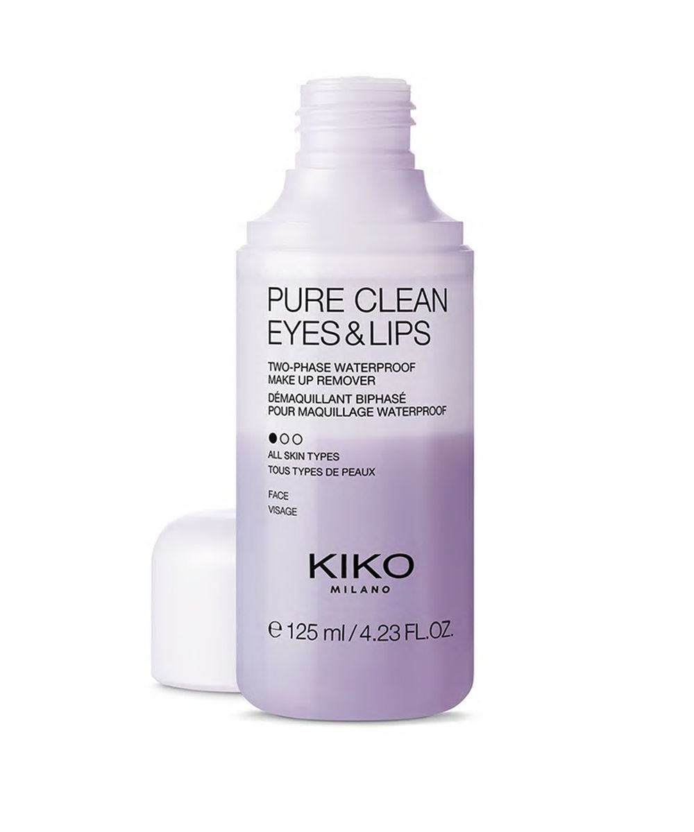 Pure Clean Eyes & Lips, de Kiko Milano.