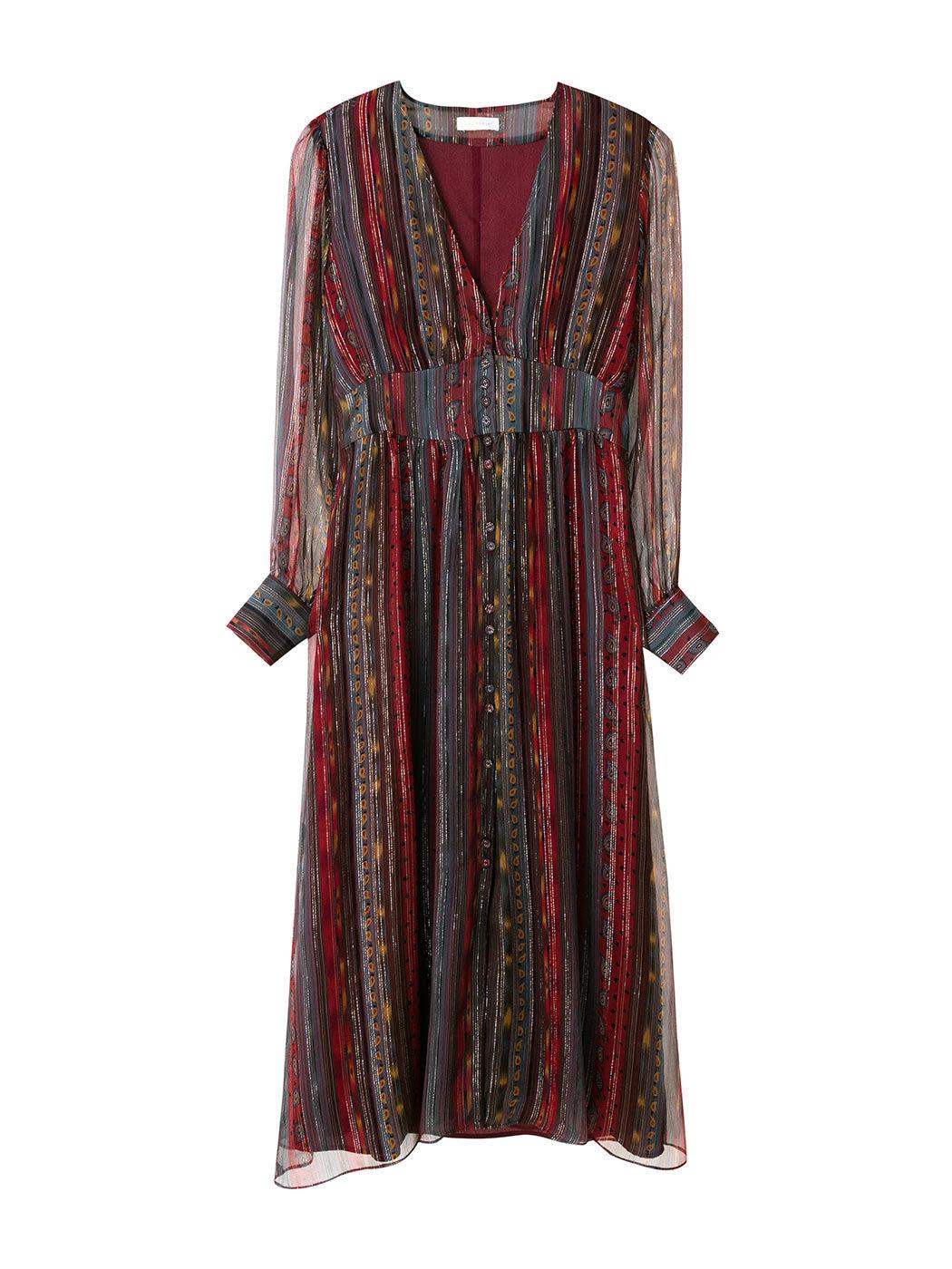 El vestido de Intropia agotado ya en la web de la firma.