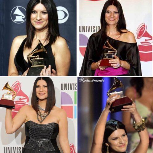 Laura Pausini con todos sus Premios Grammy