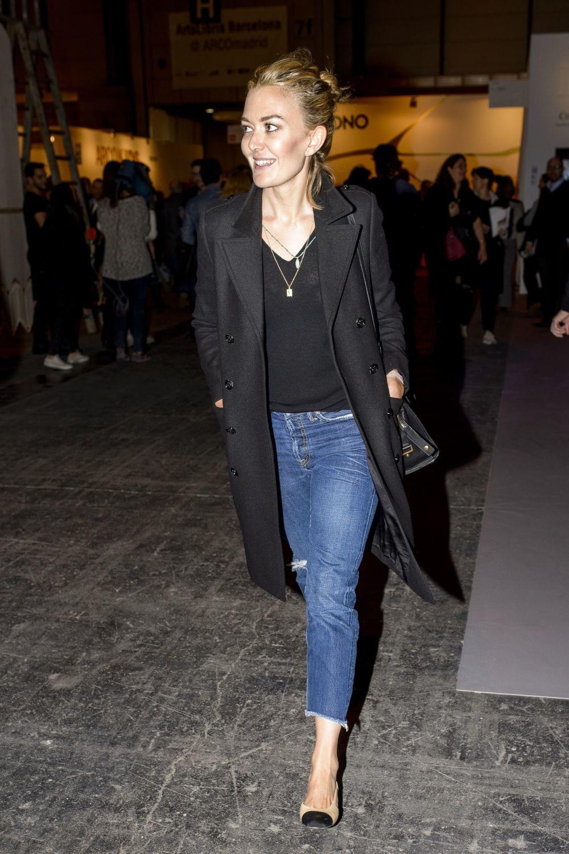 La heredera de Inditex con jeans y bailarinas de Chanel.