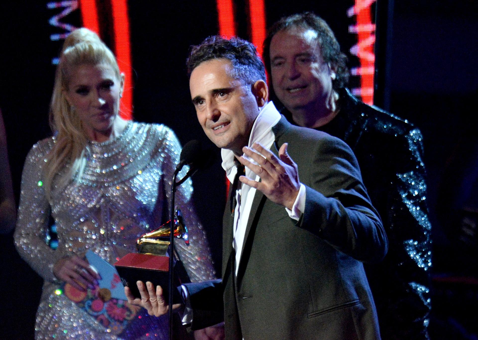 Jorge Drexler, el gran triunfador de los Latin Grammy 2018.
