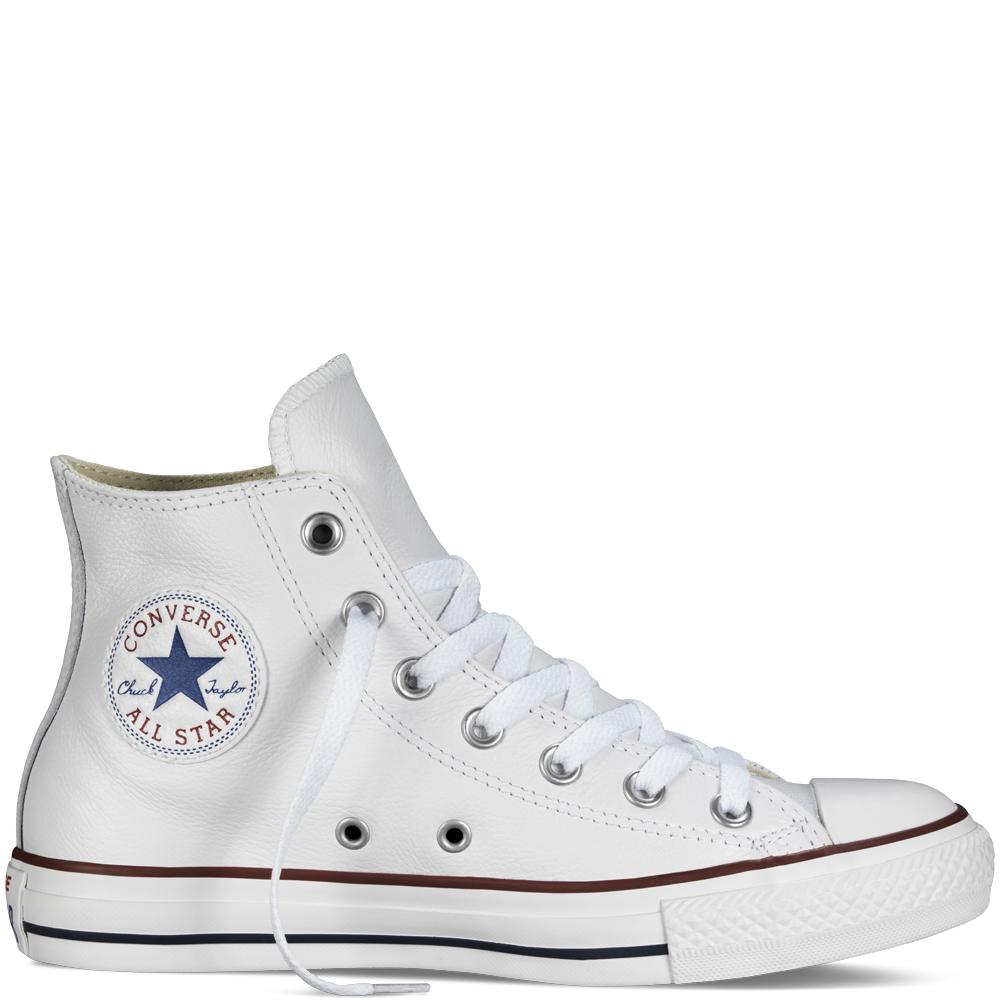 Converse chuck taylor all star en blanco, de Converse (90 euros).