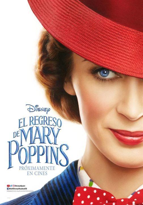 """Póster """"El regreso de Mary Poppins"""""""