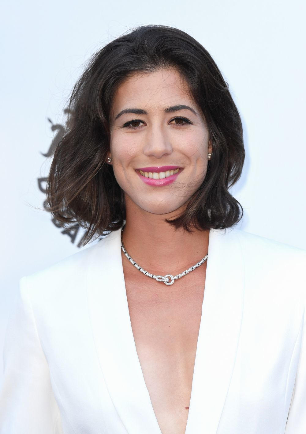 Garbiñe Muguruza con su color natural de pelo.
