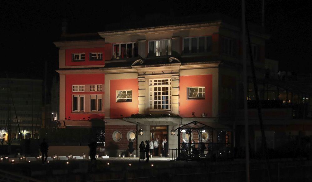 Vista del exterior del Real Club Náutico.
