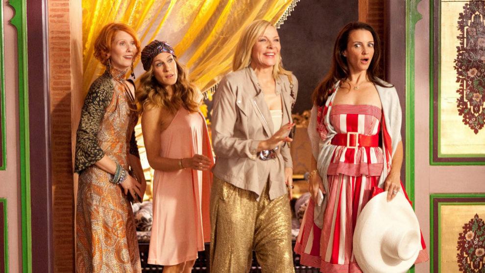 Miranda Hobs, Carrie Bradshaw, Samantha Jons y Charlotte...