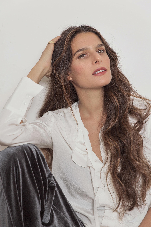 Inés Martín Alcalde con camisa con chorrera, GERARD DAREL y...