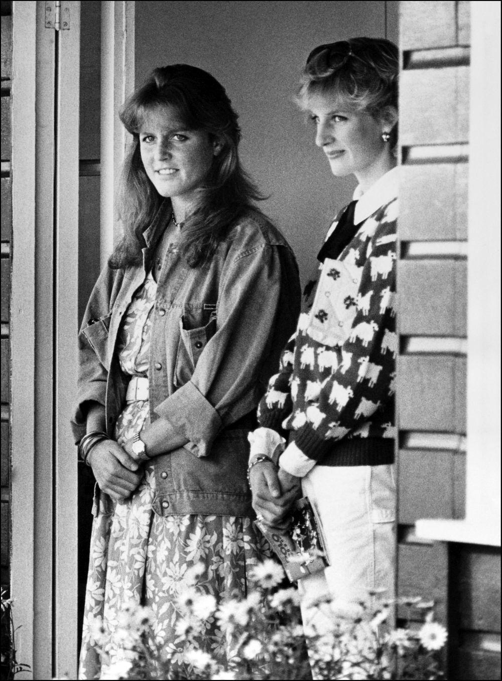 Sarah Herguson y Lady Di.