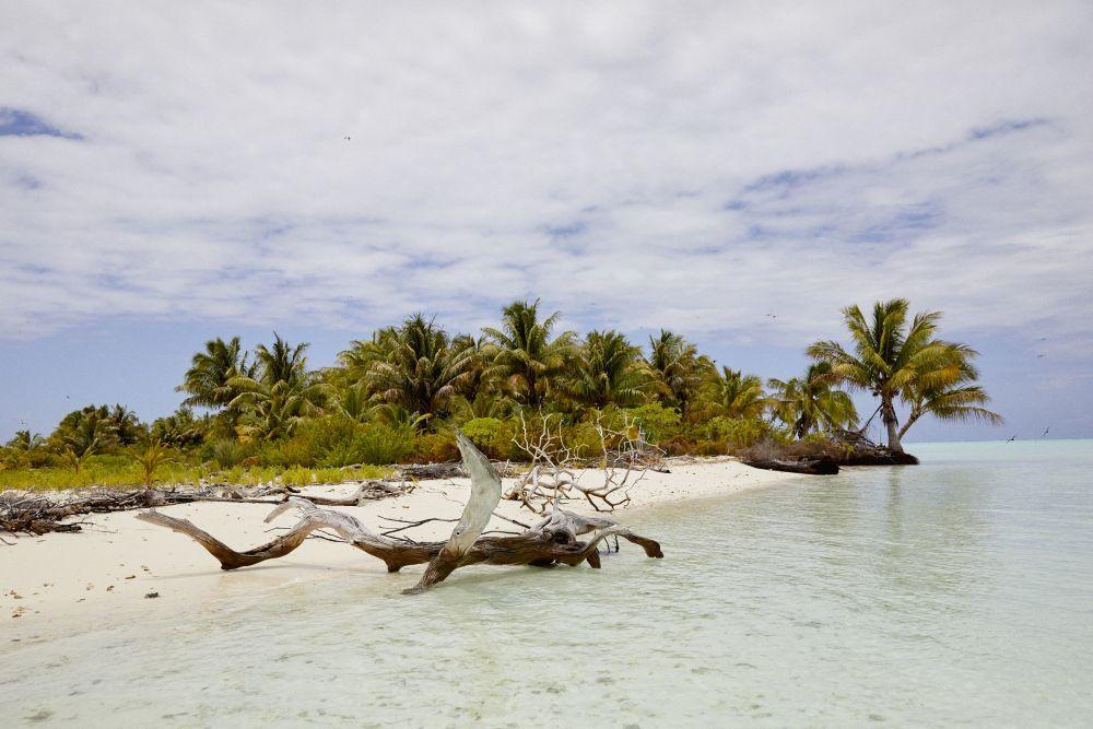 La isla de Tetiaroa, perteneciente a Marlon Brando.