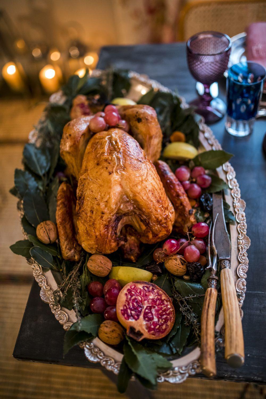 El día de Navidad nuestro menú es inglés con el tradicional pavo