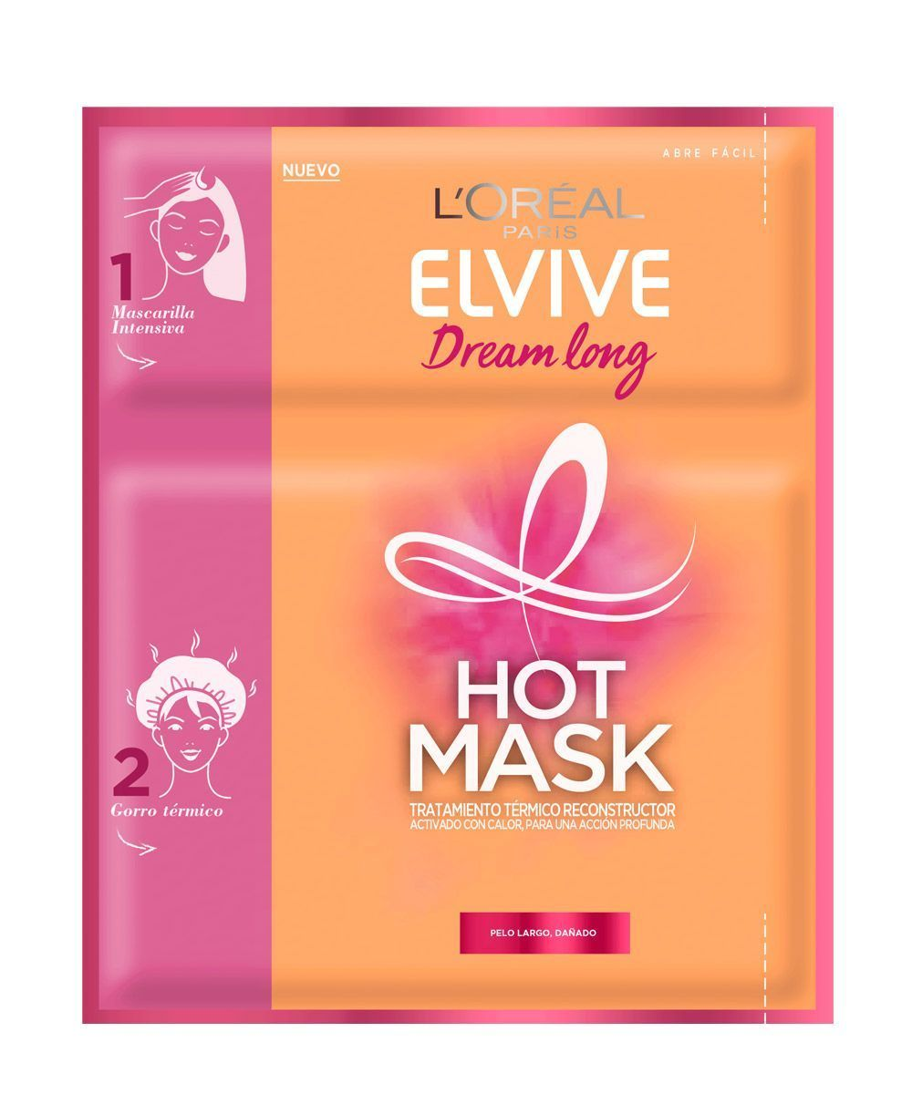 Hot Mask Dream Long ELVIVE, de L'Oréal Paris.