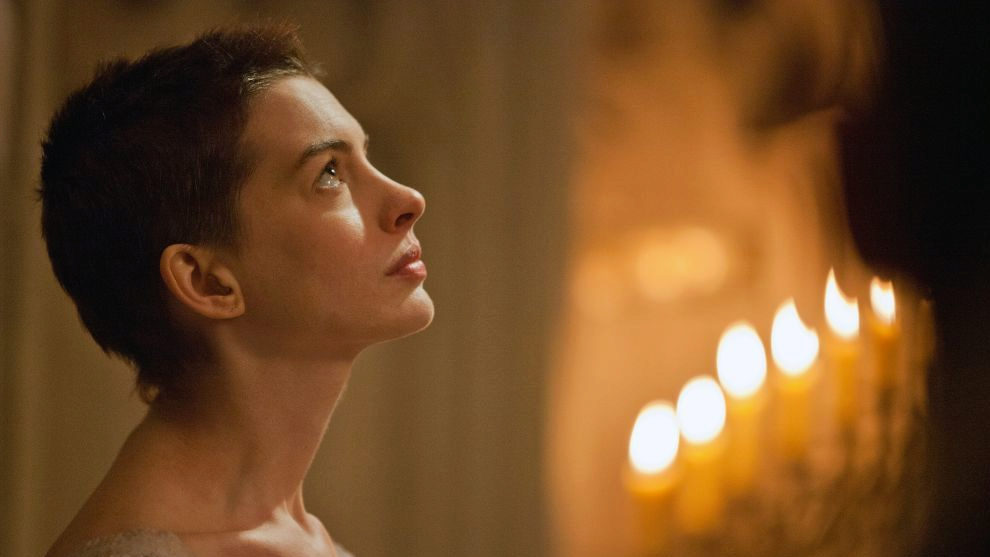 La actriz encarnado su papel en los Miserables
