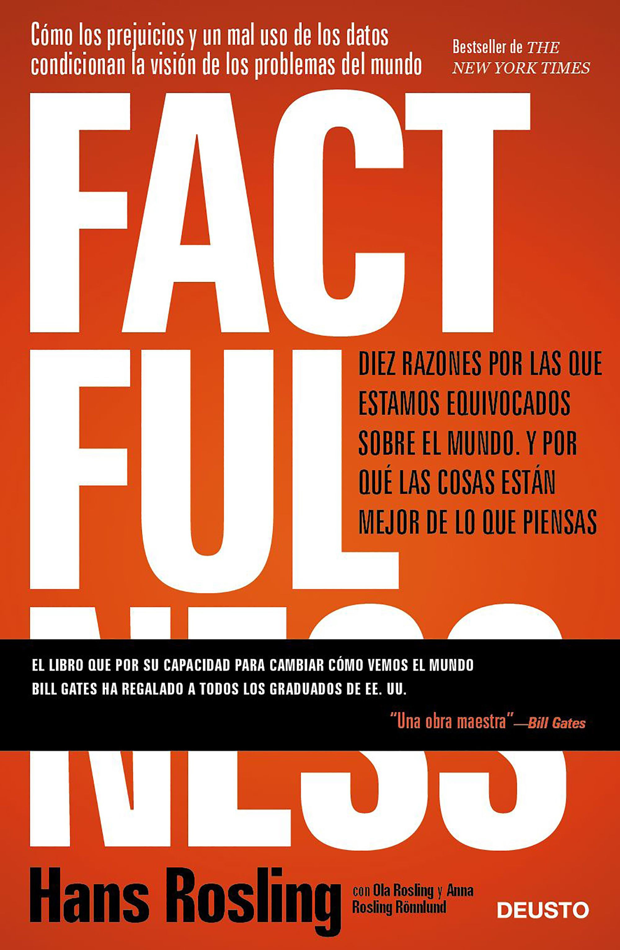 Factfulness se publica en España el 27 de noviembre.