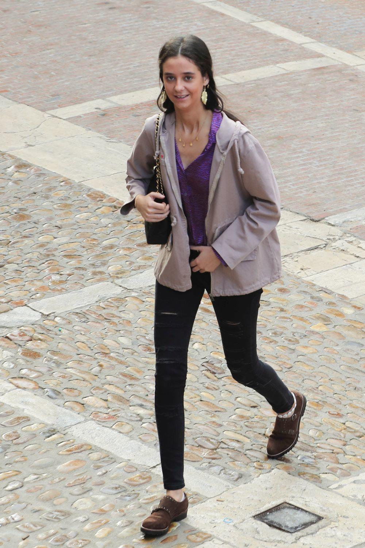 Victoria Federica con el modelo 2.55 de Chanel en mediano