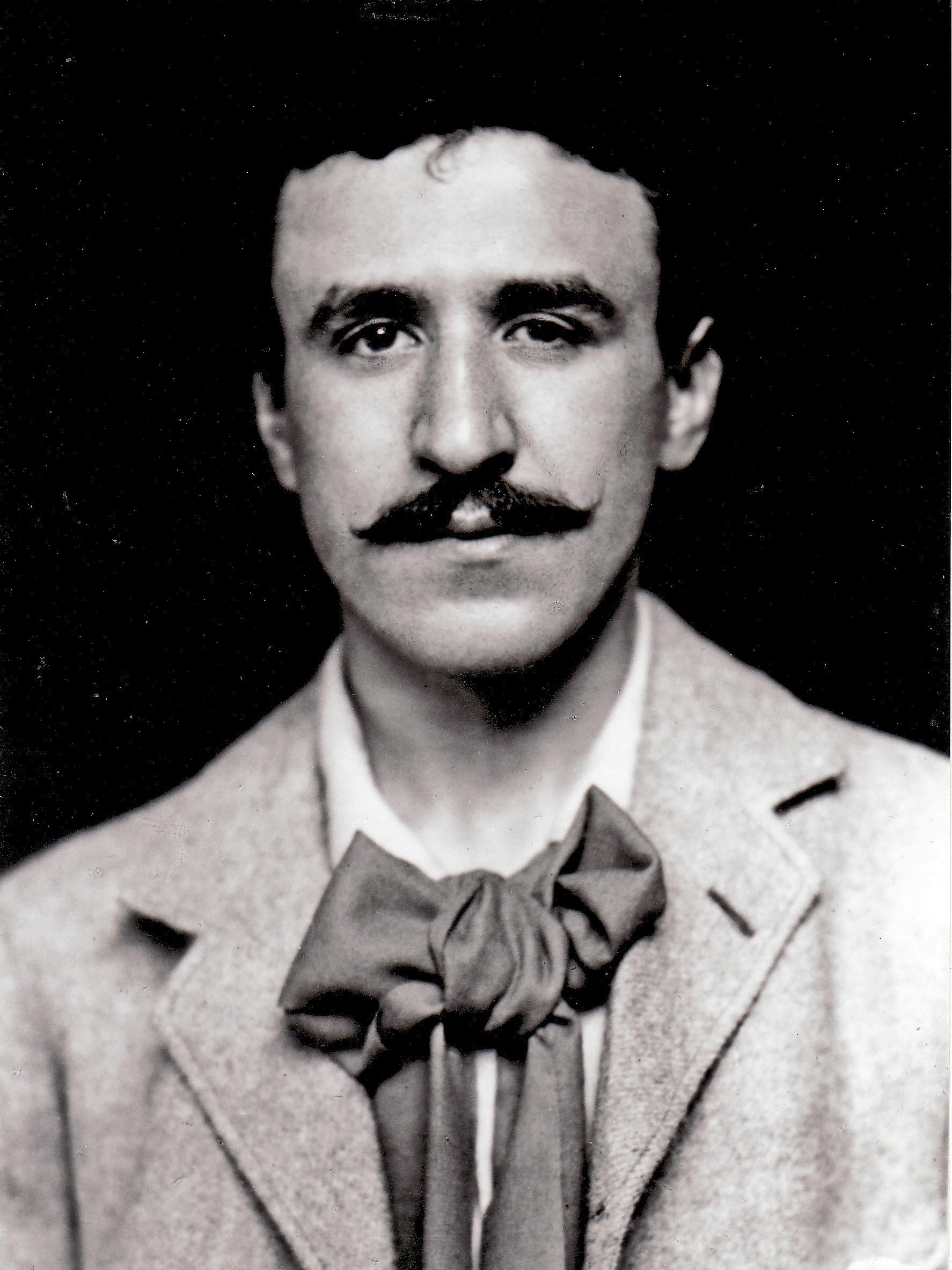 El retrato del artista en 1893