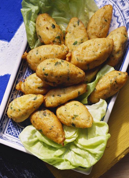 Los alimentos grasos y fritos también pueden provocar gases e hinchar...