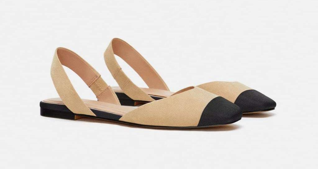 Zapatos destalonados (12,99 euros).