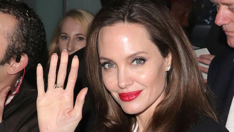 Angelina destaca por su gran labor humantaria y siempre apoya las...