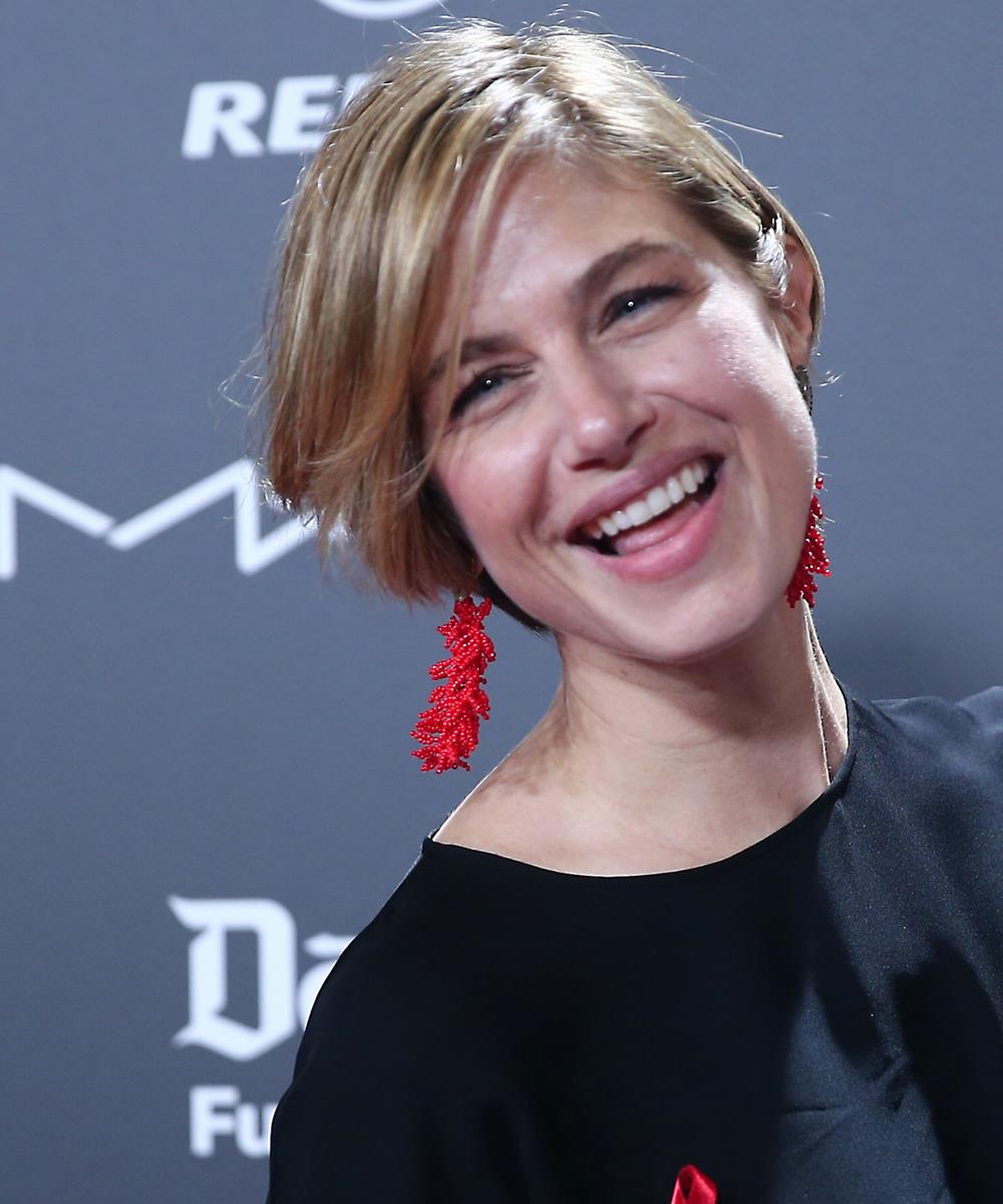 Martina Klein ha estrenado un corte de pelo semicorto estiloso,...