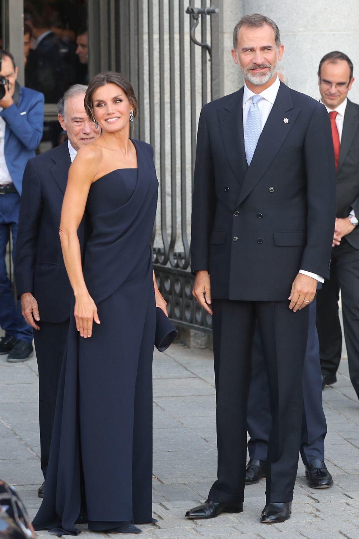 Reina Letizia y el Rey Felipe VI