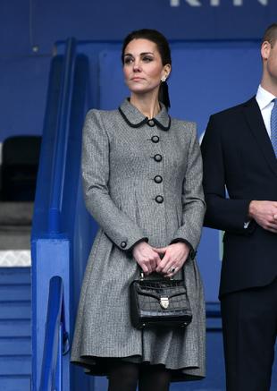 Kate Middleton, durante un acto oficial en Liverpool.