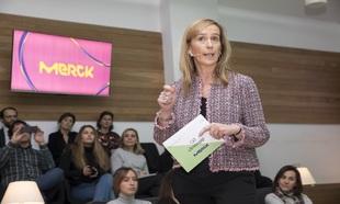 Marieta Jiménez, CEO de Merck y fundadora de ClosinGap, durante la...