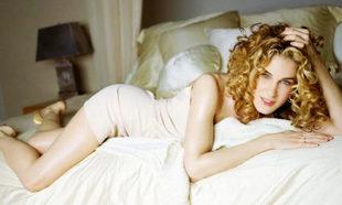Carrie Bradshaw con un vestido segunda piel.