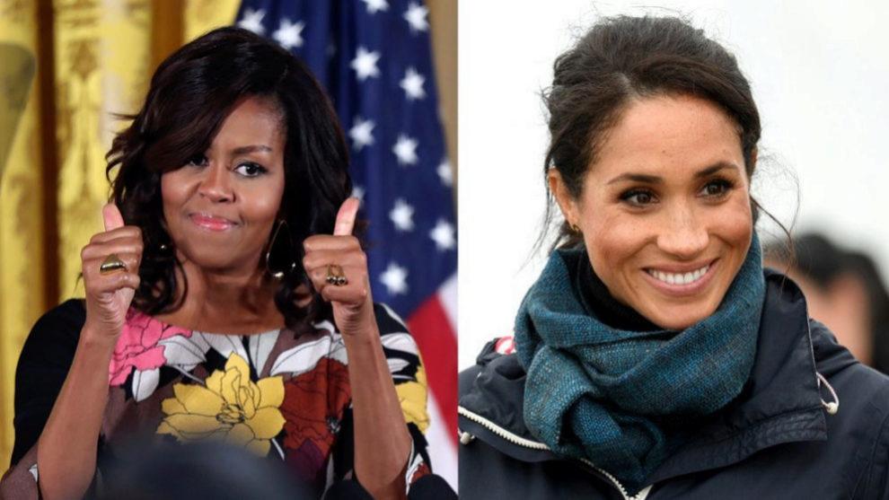Michelle Obama y Meghan Markle.