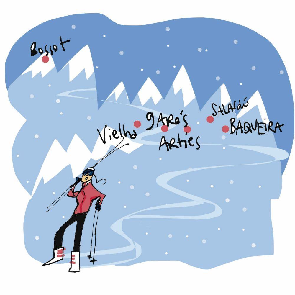 Después de esquiar, recupérate en el spa de uno de sus hoteles de...