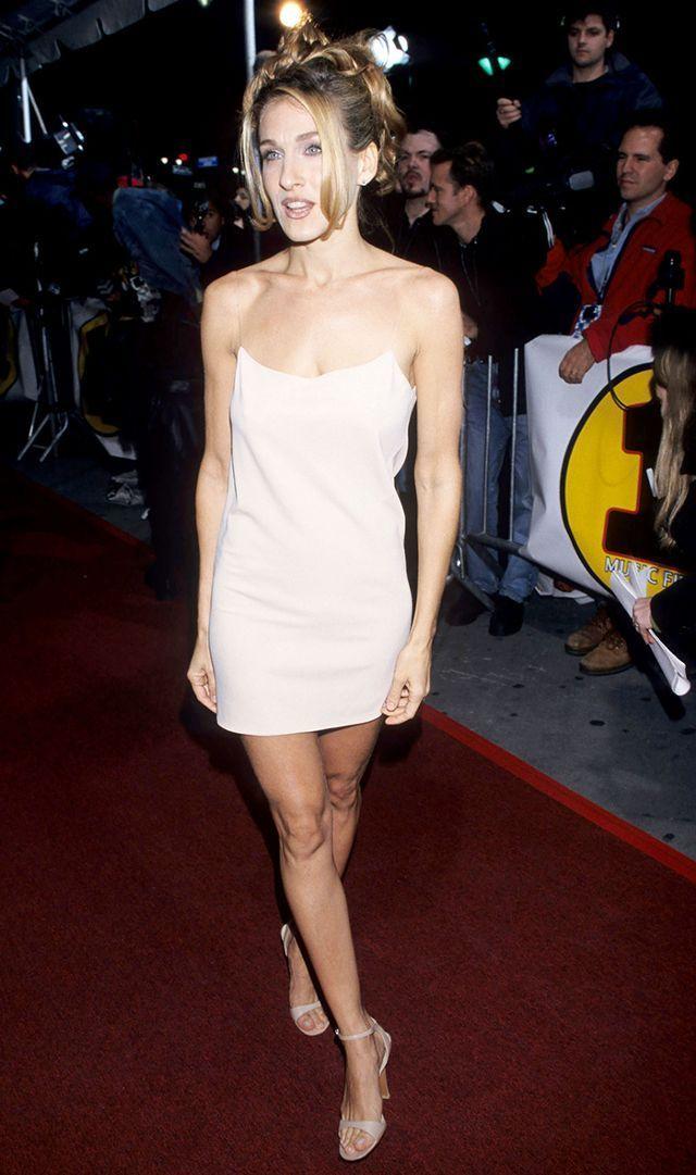 Sarah Jessica Parker, en los 2000, llevando este tipo de vestido.