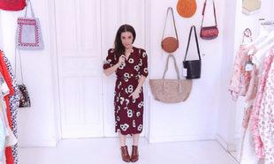 Nuria Gago con un vestido de la firma Rouje.